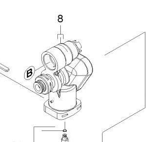 Kärcher Främre Pumphus K2-K3 9.755-286.0 -0