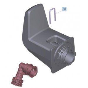Kärcher Anslutning från högtryck till slang K4/K5-0